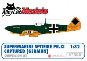 Supermarine Spitfire PR XI Conversion Captured (German) decals